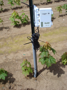Control for drip irrigation system