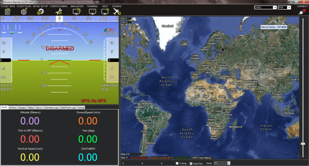 Real-time flight data