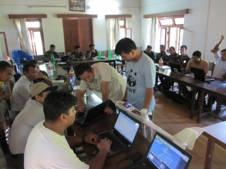Classroom teaching of UAV mission planning in Nepal