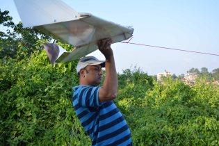 Madhav launching the Vanguard