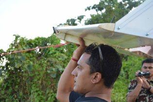 Captain Prabhat Thapa launching the Vanguard