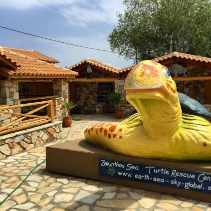 Zakynthos Sea Turtle Rehab Center