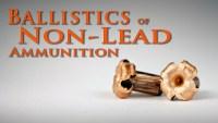 Ballistics of Non-Lead Ammunition