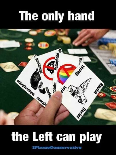 left-wing hand