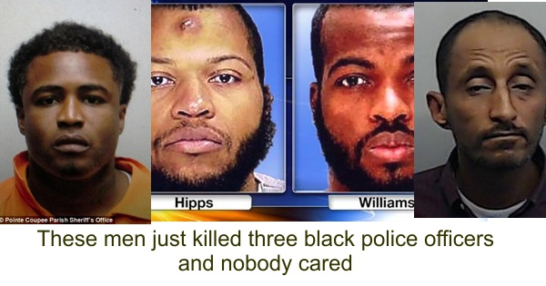 At Least Nobody Was Killed It Was No >> Black Males Just Killed At Least Three Black Officers And No One Cared
