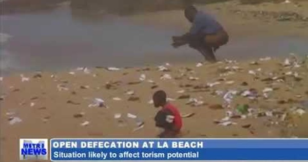 Image result for liberia shit on beaches