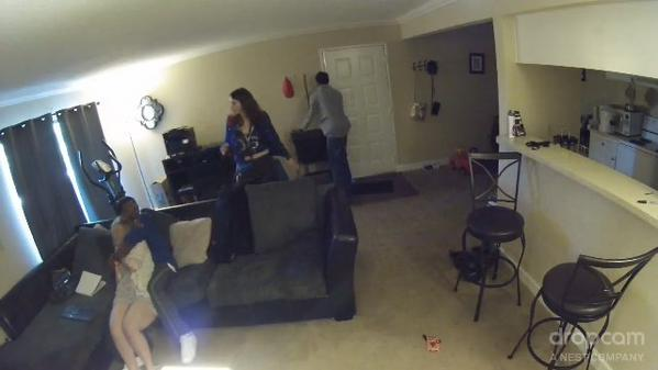 Kansas City Home Invasion Caught On Video