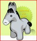 Leftie the Donkey NGP VAN mascot