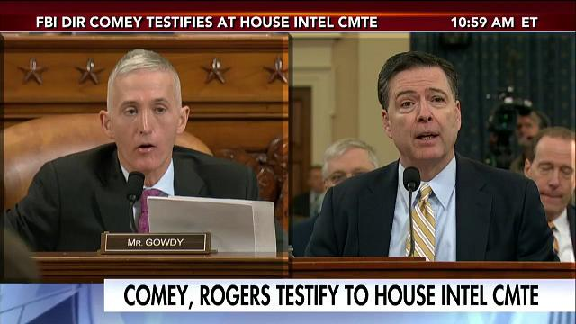 Image result for comey and gowdy