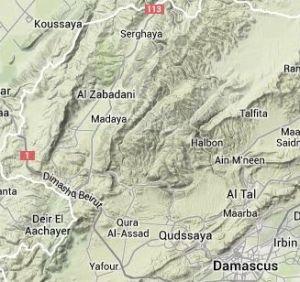 Al Qalamoun Mts