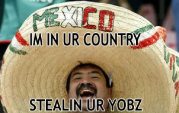 mexican stealing jobs