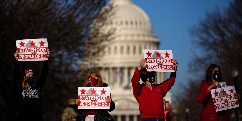 DC statehood is not only unconstitutional, it's racist
