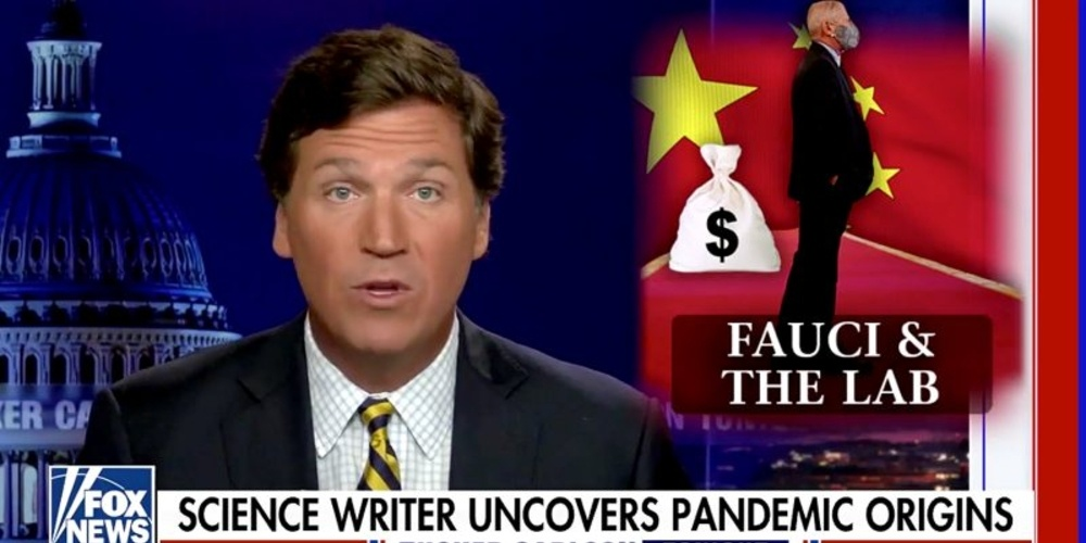 Tucker Carlson_ Fauci More Responsible for COVID Pandemic Than 'Any Other Single Living American'