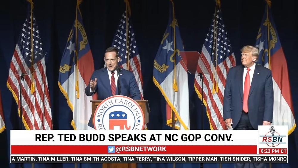 Lara Trump Declines Senate Run, Endorses Rep. Ted Budd. . . and Donald Endorsed Him Too