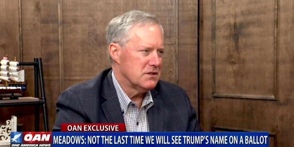 Meadows Predicts a Coming Donald Trump Candidacy