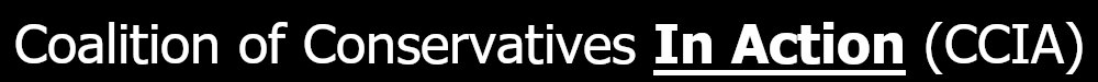 Logo for Coalition of Conservatives In Action (CCIA)