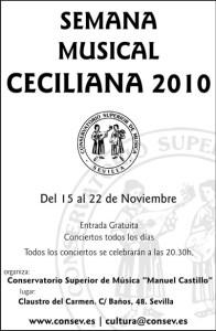 Semana Musical Ceciliana 2010