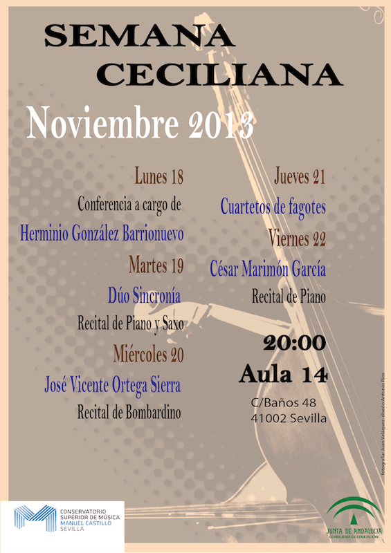Semana musical Ceciliana 2013