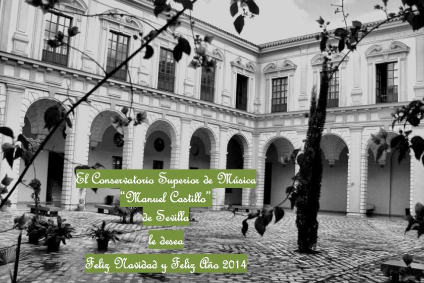 Felicitación del Conservatorio Superior de Música de Sevilla 2013-14