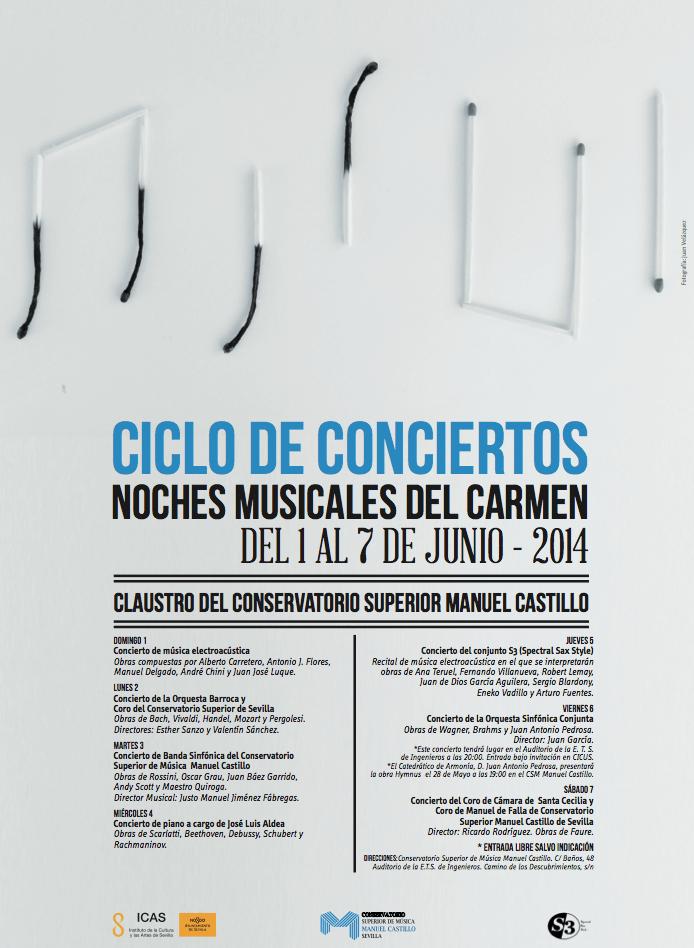 Noches Musicales del Carmen 2014