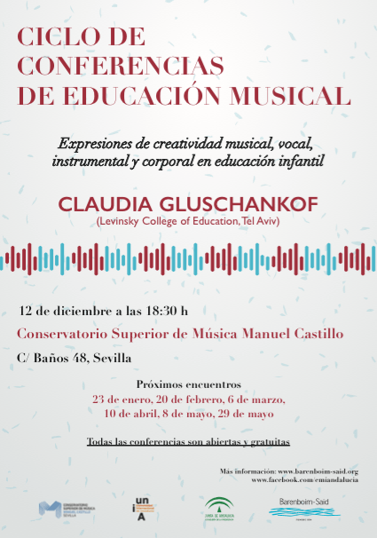 Ciclo de conferencias sobre educación musical