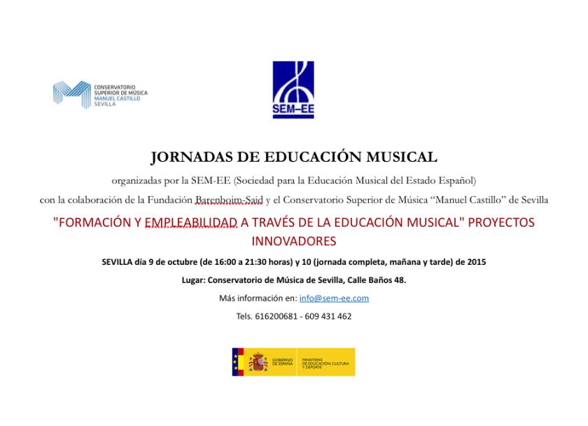 Jornadas de Educación Musical octubre 2015