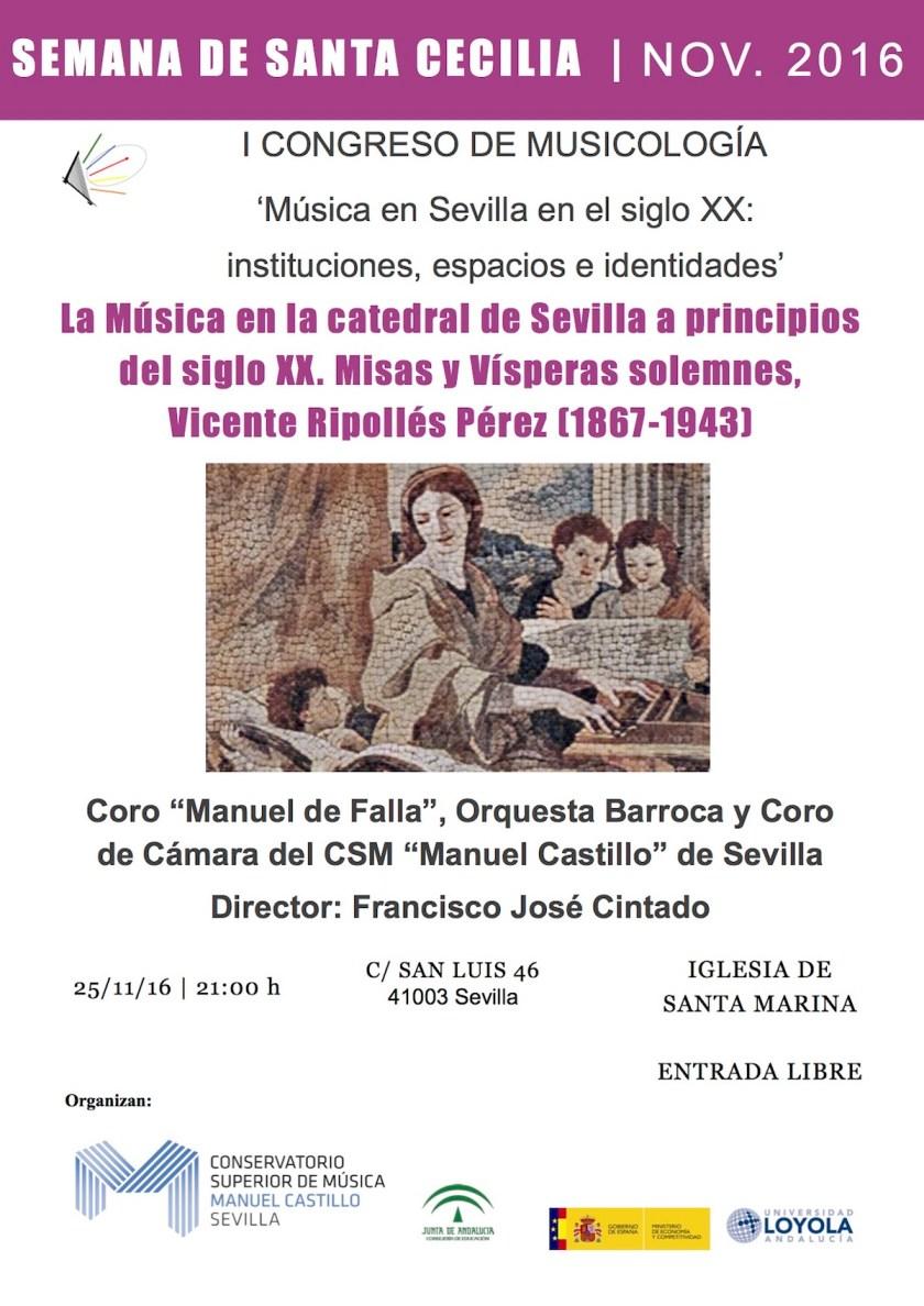 I Congreso Música en Sevilla en el siglo XX