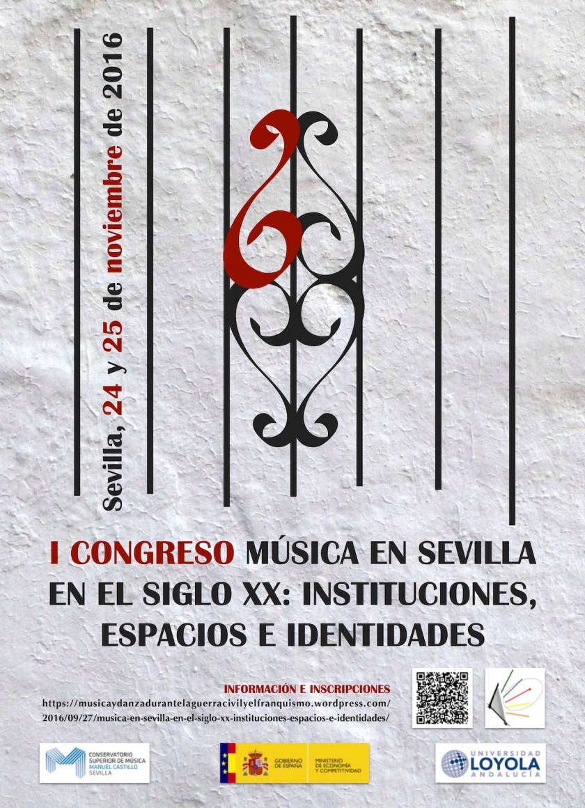 I Congreso de Musicología Música en Sevilla en el siglo XX