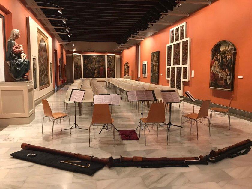 Concierto del Conjunto de Flautas Renacentistas del Conservatorio