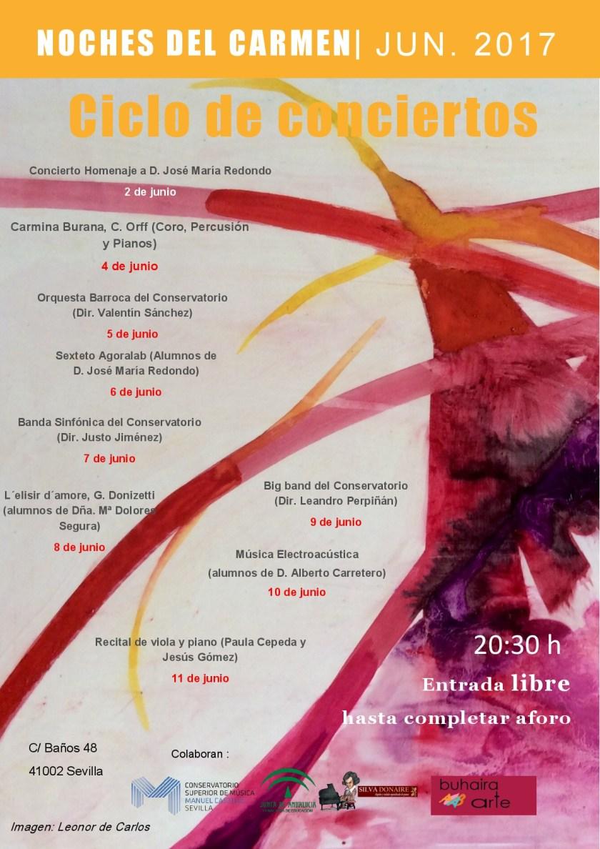 Ciclo Musical «Noches del Carmen 2017»