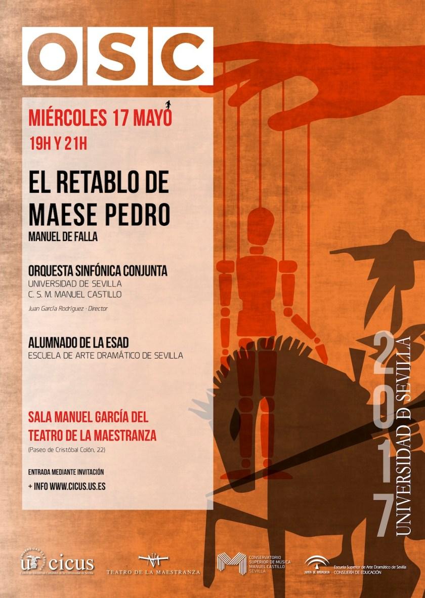 Producción de «El Retablo de Maese Pedro» en el Teatro de la Maestranza
