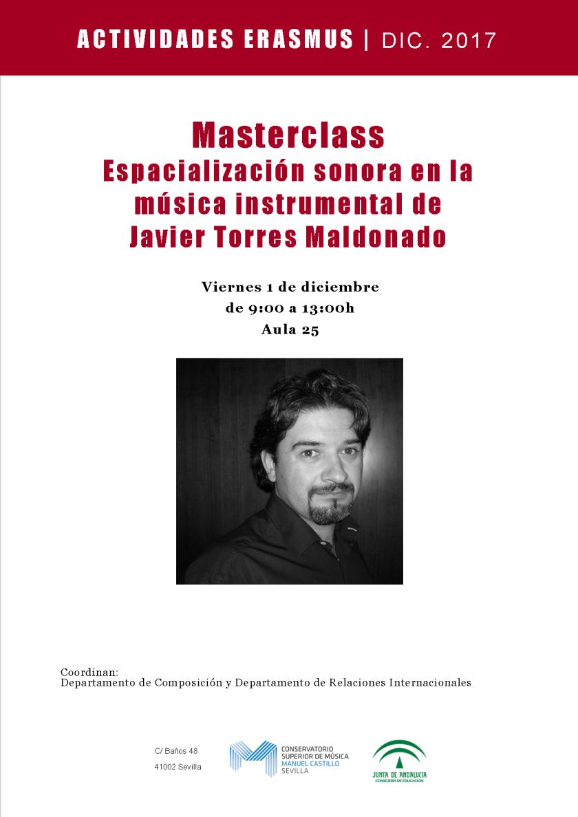 Javier Torres Maldonado - clase magistral