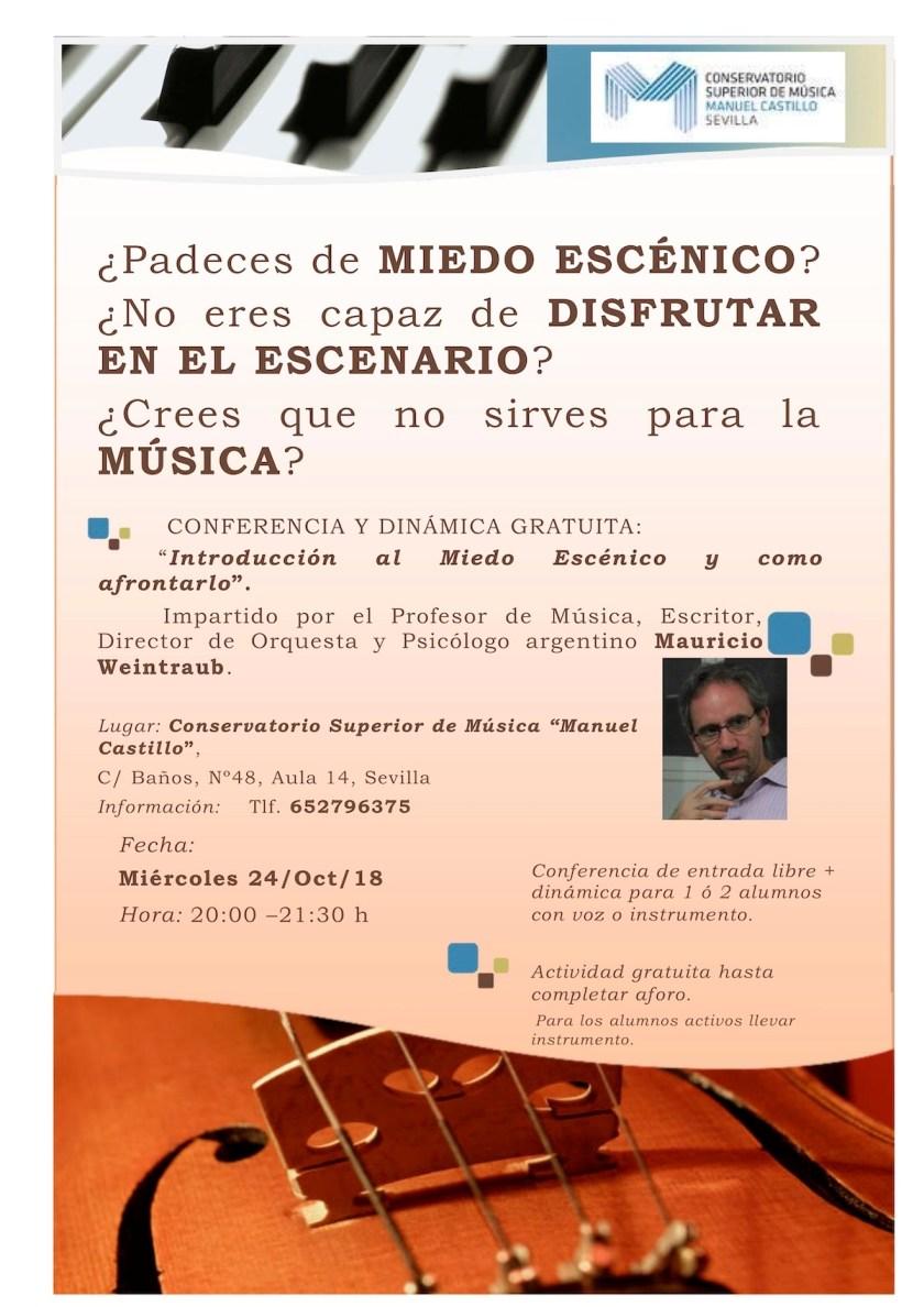 Conferencia — Mauricio Weintraub