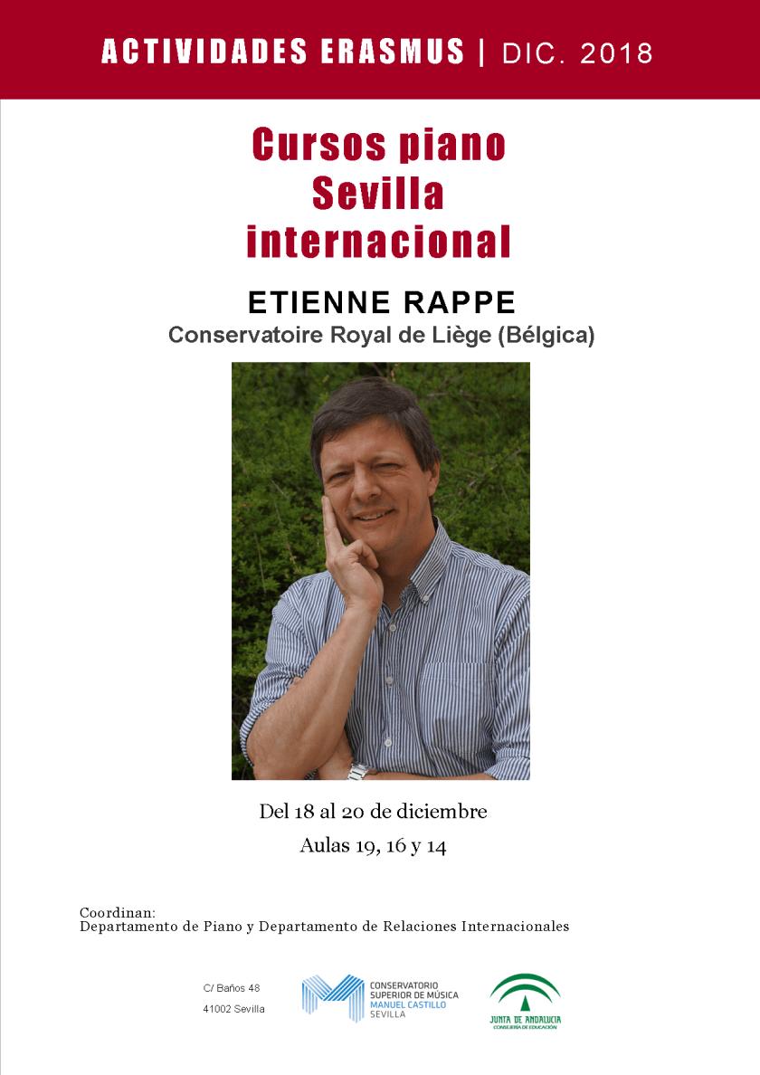 Curso de piano y recital — Etienne Rappe