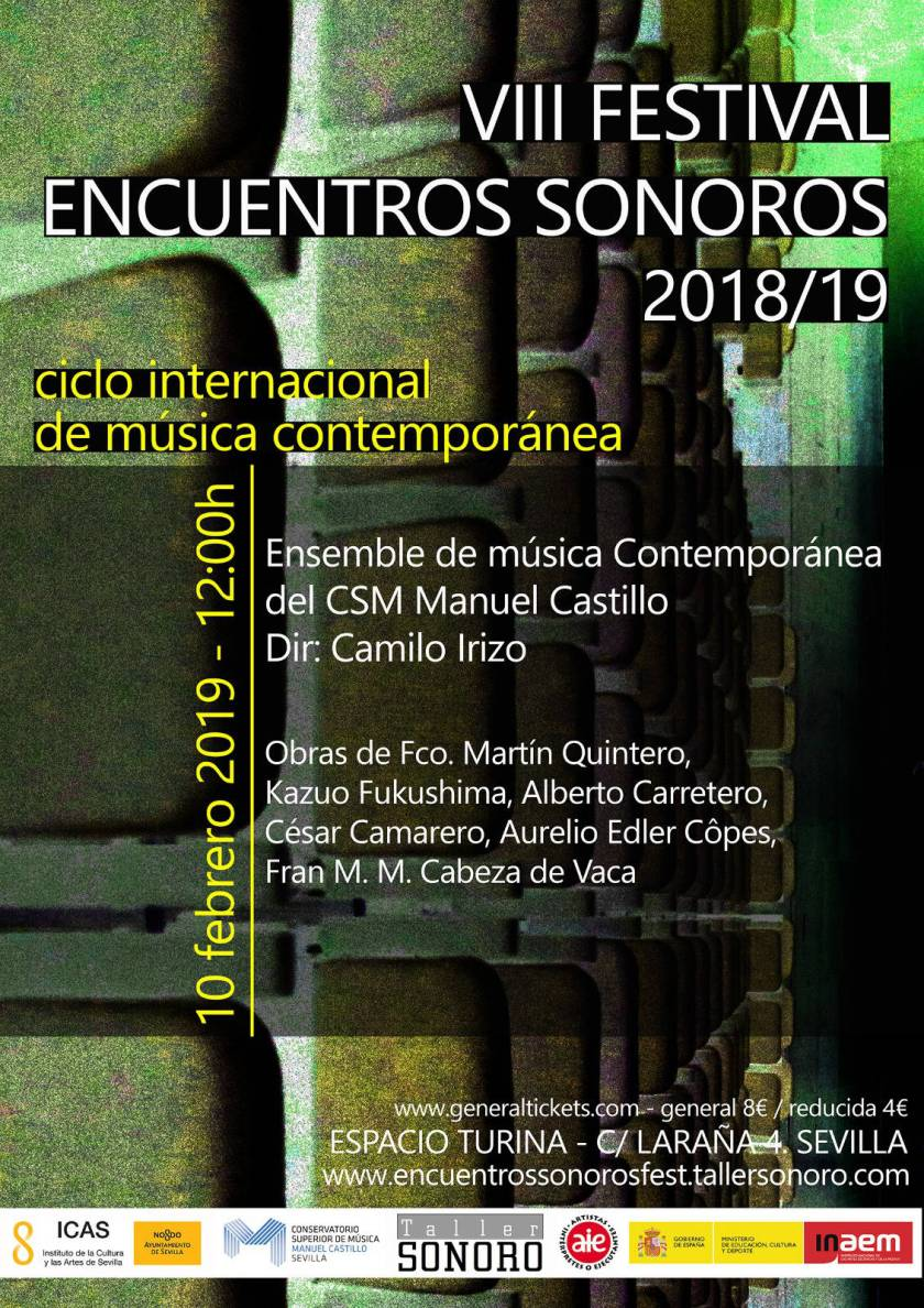Ensemble de Música Contemporánea en el VIII Festival Encuentros Sonoros