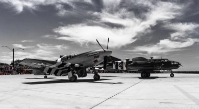 Mustang and B-51 BW