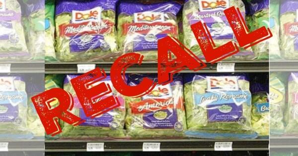 salad recall consider the consumer