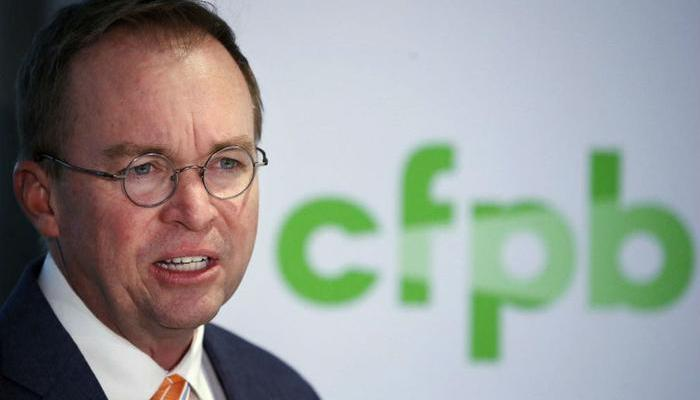 Trump Will Name Mick Mulvaney's Replacement As Head of CFPB Consider The Consumer