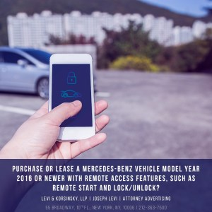 Mercedes-Benz Remote Access Features Investigation Consider The Consumer