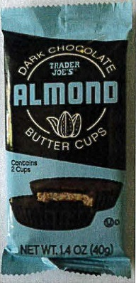 Trader Joe's Dark Chocolate Almond Butter Cups Recall 2021 - Allergic Reactions Due To Peanuts