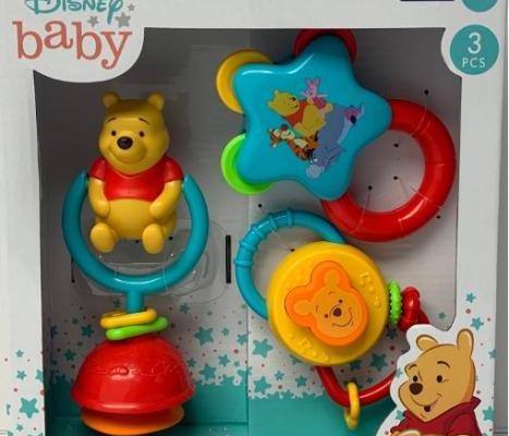 Walgreen's Winnie The Pooh Rattle Recall 2021 - CPSC Warns Parents Over Kids' Safety