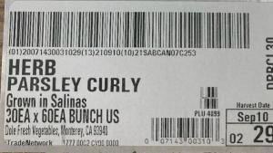 Dole Fresh Curly Parsley