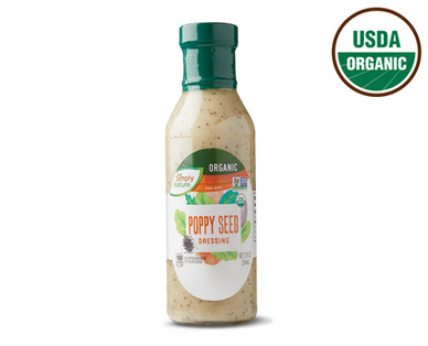 Aldi Simply Nature Organic Poppy Seed Dressing Recall - Drew's Organic Shows Concerns Over Food Poisoning From Botulinum