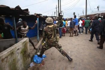 Enforcing Ebola Quarantine