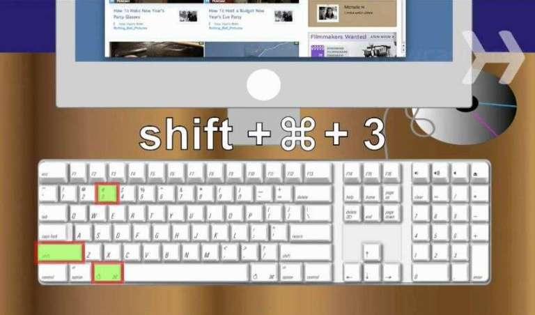 Come fare lo screenshot Mac.