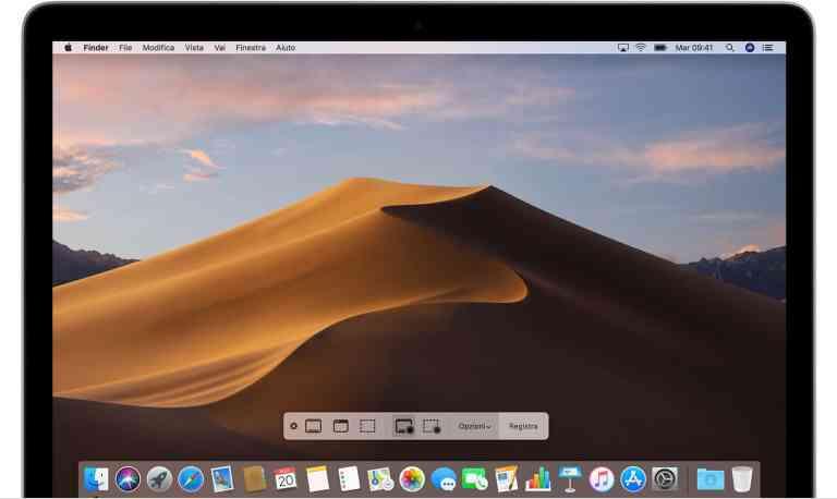 Come registrare lo schermo del Mac senza download!