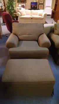 THOMASVILLE CHAIR/OTTOMAN | Delmarva Furniture Consignment