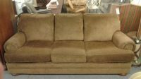 CLAYTON MARCUS BROWN SOFA | Delmarva Furniture Consignment