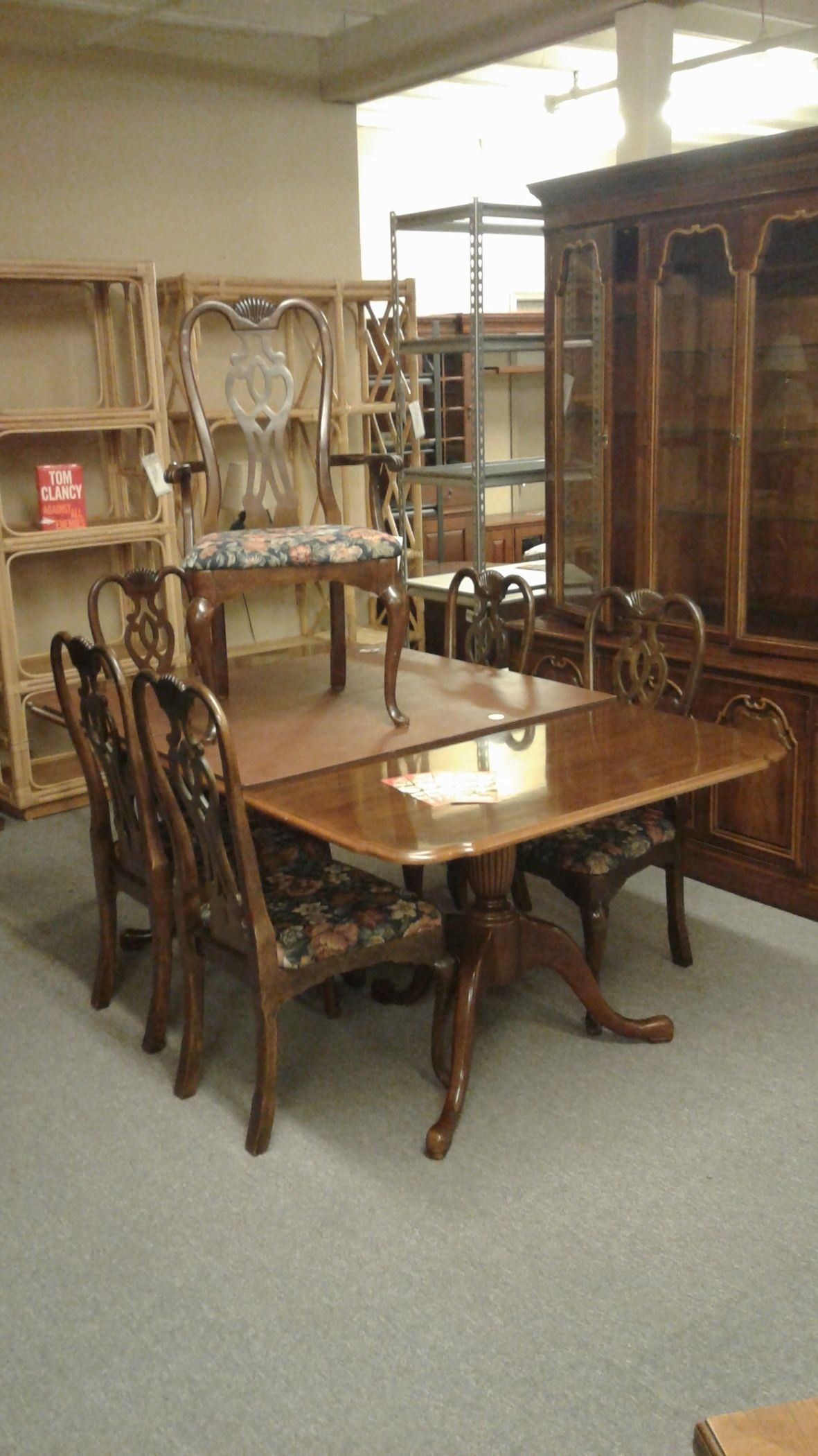 thomasville sofa table with stools seattle homebase w 6 chairs delmarva furniture consignment