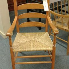 White Ladder Back Chairs Rush Seats Lime Green Table And Seat Chair Delmarva Furniture Consignment